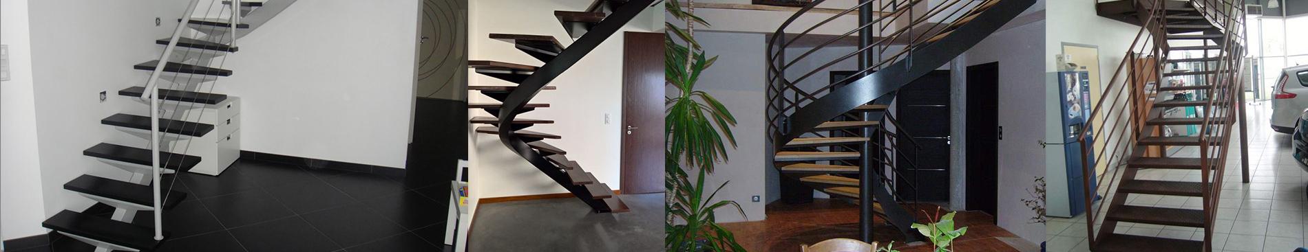 escalier métal sur mesure à Cholet