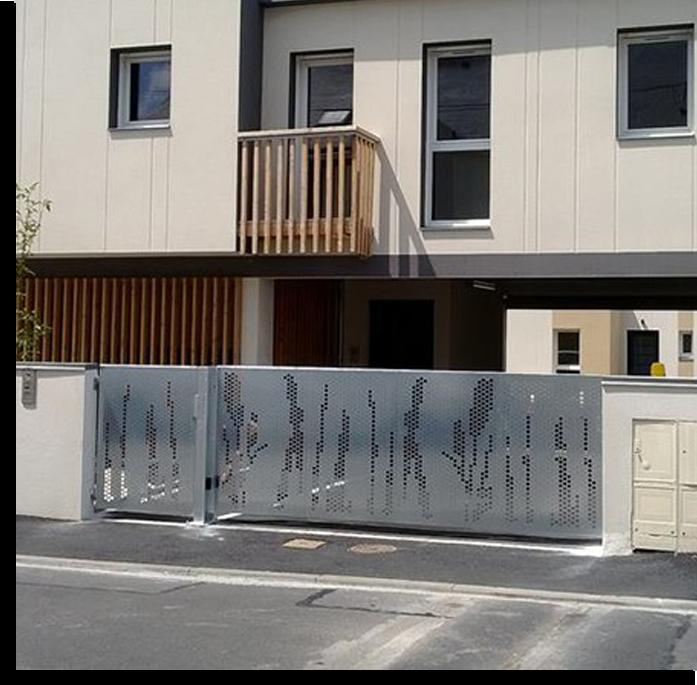 portail et garde-corps à Cholet